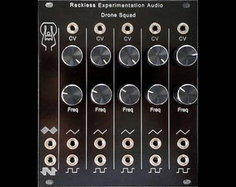 Drone Squad Eurorack Module by Reckless Experimentation Audio
