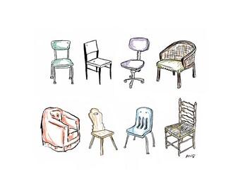 Chairs PRINT