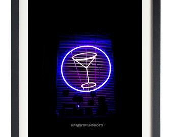 Neon Photo Art, Neon Wall Art, Urban Photography Print, Richmond Photography , Neon Photography Print, Neon Wall Decor, Nightlife Print