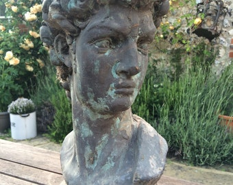 Classical style bust of David