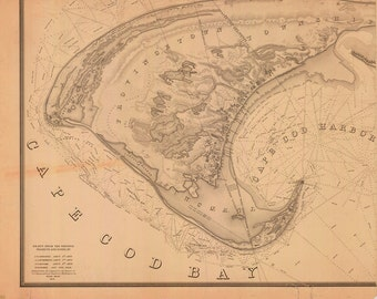 Cape Cod Bay and Provincetown 1836