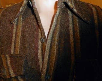 VINTAGE Shirt/Jacket  60's   Made by MOSTHEAD Size Large   Like New