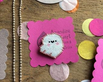 Beads Miyuki ghost pin