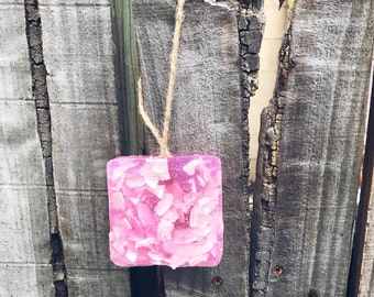 Coconut & Grapefruit Soap on a Rope