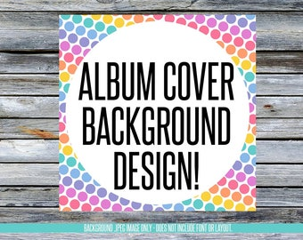 Facebook Album Cover Background Designs! Instant Download! LLRBGAL_05