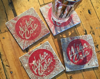 Fallout-Inspired Coasters