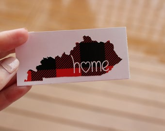 Home State Printed Decal