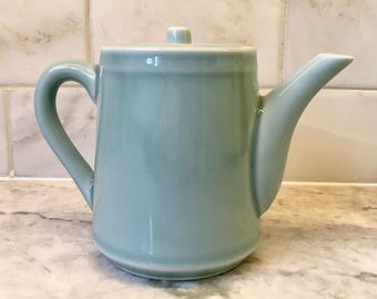 Vintage Aqua Blue Teapot in LIKE NEW Condition