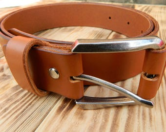 Brown leather belt, Mens brown belt, Womens brown leather belt, Tan leather belt, Leather belt, Leather straps, Custom leather belts