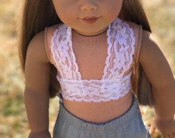 18 inch doll bralette