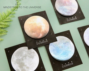 Cosmic -Sticky Notes, Medical Plaster Post It Notes, Reminder Notes, Memo Pad Stickers, Planner Page Marker Stickers