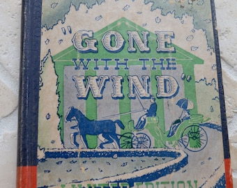 GONE WITH the WIND Limited Edition 1939 Novelty Joke Gag Book Basket Full of Beans Hollowed Out Book Rare!