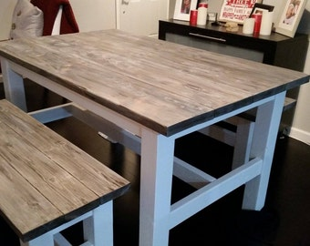 Handcrafted Farmhouse Dining Table