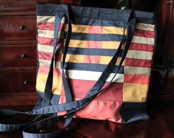 Bag, shoulder bag, shoulder bag, silk fabrics