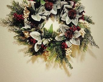 Winter Foliage Wreath