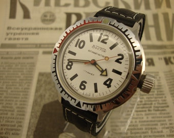 Mechanical watch, Vostok watch, military watch, mens watch, soviet watch, russian watch, vintage watch, watches for men, watch military,