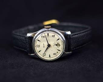Vintage watch, ZIM watch, watch for her, soviet watch, ussr watch, mechanical watch, russian watch, wrist watch for women
