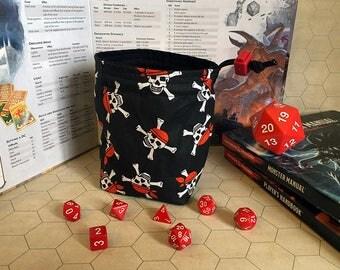 Pirates - Large Dice Bag