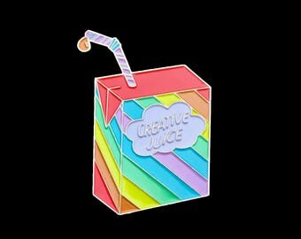 Creative Juice Enamel Pin