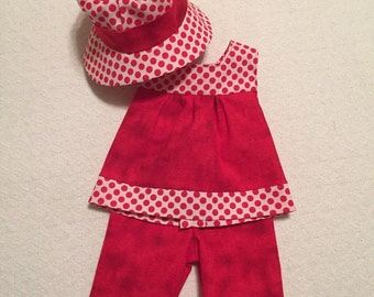 "18""  Doll Clothes  Three piece Outfit"
