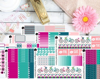 Spring Fling Planner Stickers