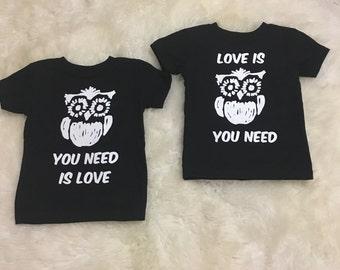 Twin/friend/sibling Valentine's tshirts