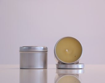 La Mojie Candle - Lemon Chiffon - 100% Natural