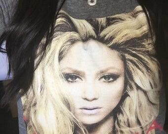 Shakira Slasher Crop Top