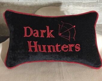 Dark Hunters Reversible Throw Pillow