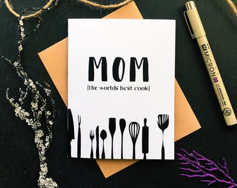 Birthday Card to Mom - Mom Birthday Card - Cards for Mom - Mom Day Card - For Mom Card- Mom of the Year Card - Bday Card for Mom