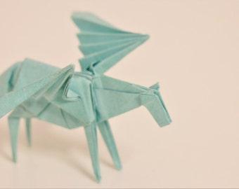 Tiny Origami Pegasus