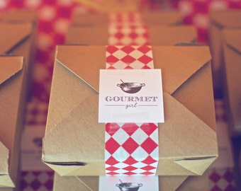 Gourmet Girl Stickers