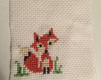 Cute Fox Cross Stitch