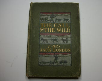 The call of the wild Jack London first edition 2nd printing