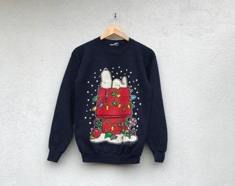 Vintage 80s SNOOPY Peanuts sweatshirt