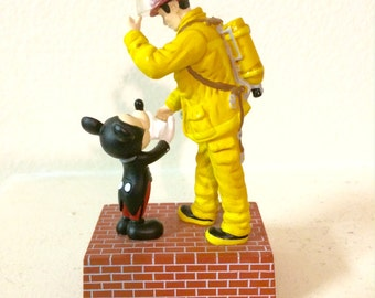 Mickey Mouse Statue Etsy