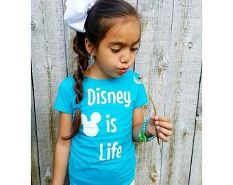 Disney is Life, Disney shirt, Disney trip, vacation,  mouse ears, mickey,  minnie,  life
