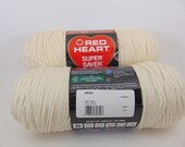 Aran -  Red Heart Super Saver yarn worsted weight - 1033
