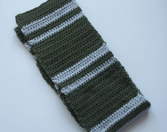 Scarf, inspired by Harry Potter Slytherin