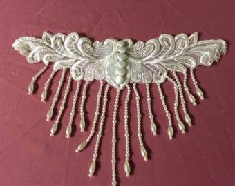 Beaded Vintage Wedding Collar