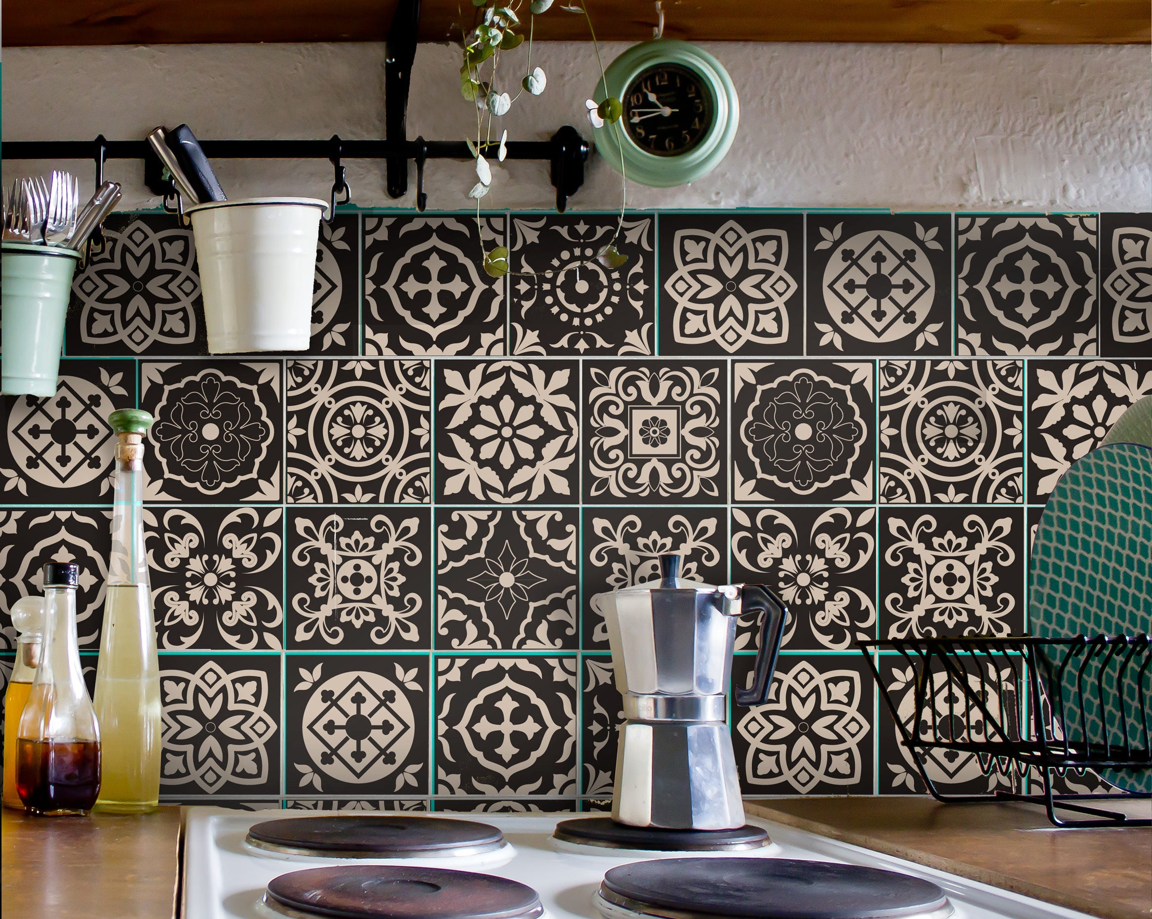 tile decals carrelage stickers kitchen bathroom portuguese zoom