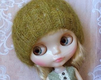 Blythe Doll Knitting Hat Mohair Silk
