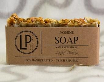 Jasmine soap, gift for girlfriend, Valentine's Day gift, Natural Soap, Homemade Soap, gift for her, gift for women, gift for mom