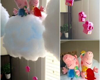 Peppa Pig LED Cloud Light - One of a Kind!
