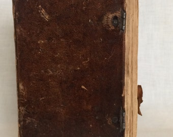 German New Testament Bible--Late 1700's-early 1800's