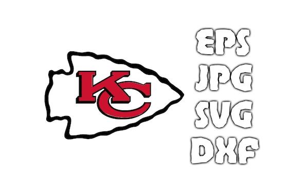 Download Kansas City Chiefs logo SVG - Vector Design in Svg Eps Dxf ...