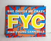 Fine Young Cannibals Album Cover Notebook Handmade Spiral Journal