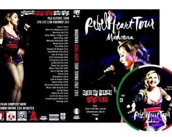 Rebel Heart Tour Turin Italy DVD (Torino) - Madonna
