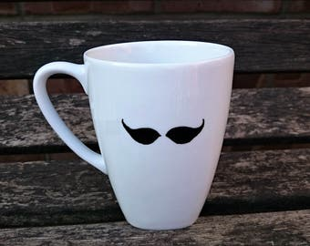 Moustache Coffee Cup / Mug