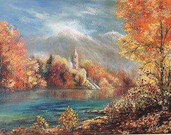 "Original Oil Painting  ""Autumn"""